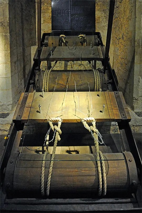 The rack at the Tower of London