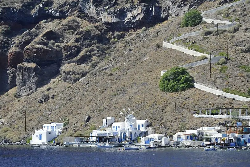 Corfos, Therasia, Santorini, Greece