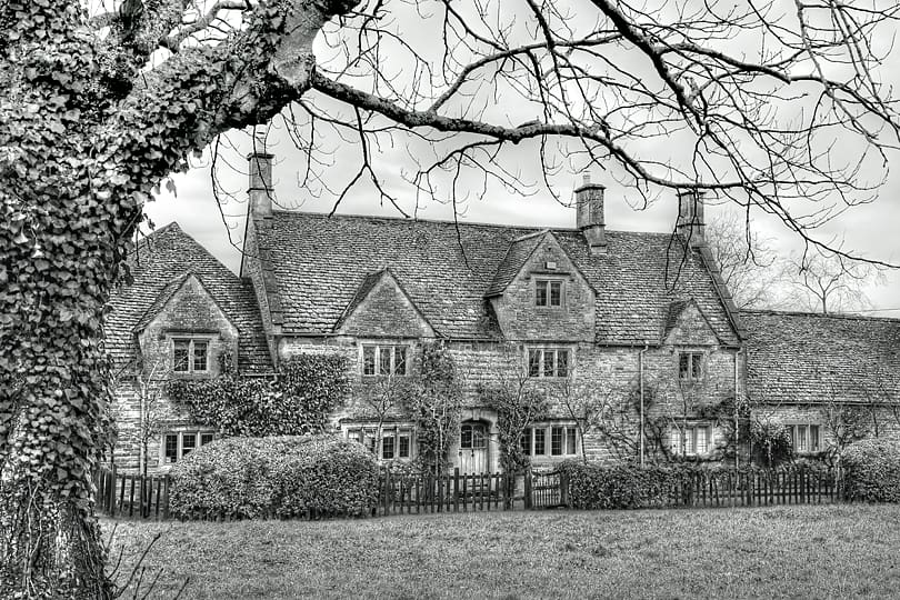 Icomb, Cotswolds England
