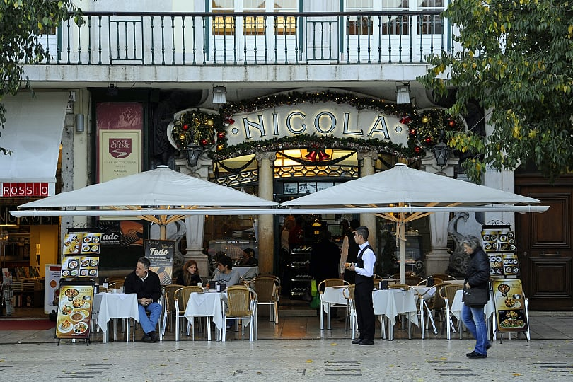 Nicola cafe, Lisbon, Portugal