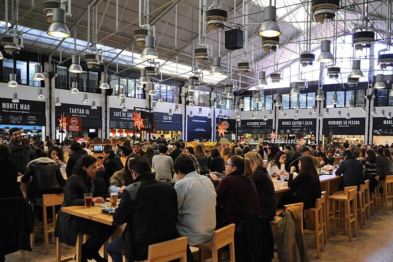 Mercado da Rebeira, Cais do Sodré, Lisbon