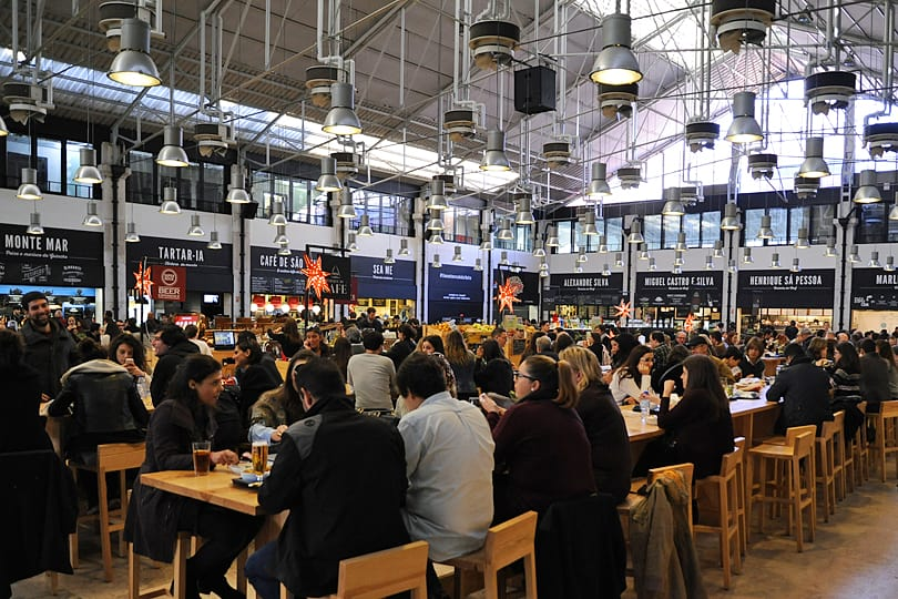 Best food and drink Lisbon, Mercado da Rebeira, Cais do Sodré, Lisbon