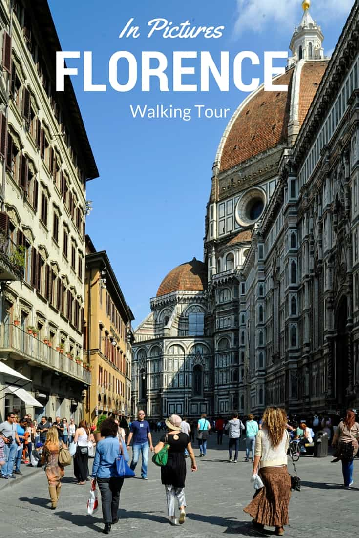 Italian Florence: In Pictures, A Walking Tour Of Florence
