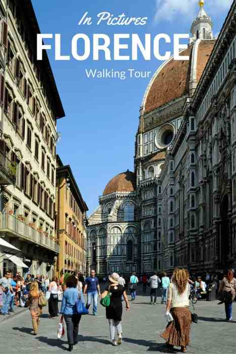 From the famous food market to the Ponte Vecchio Bridge, join me on a walking tour of Florence, Italy