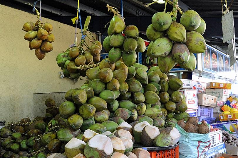 Dubai coconuts, Dubai food tour