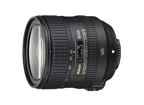 Nikon 24 to 85mm lens