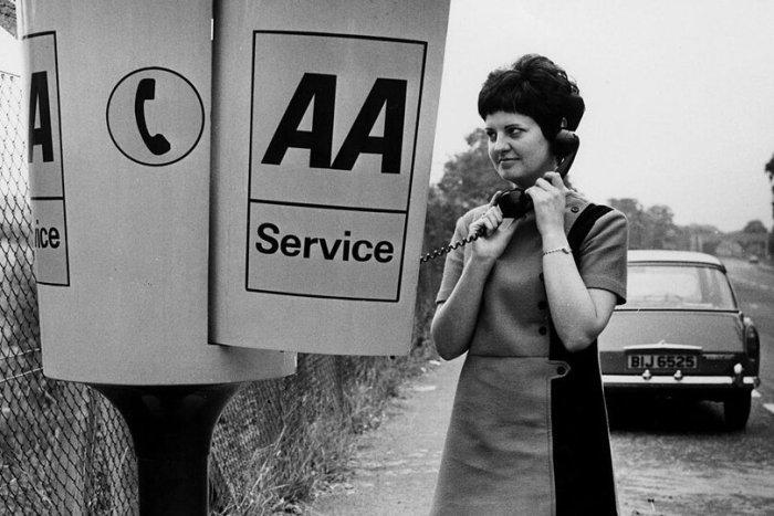AA roadside telephone boxes