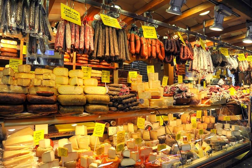 Market in Palma, Mallorca