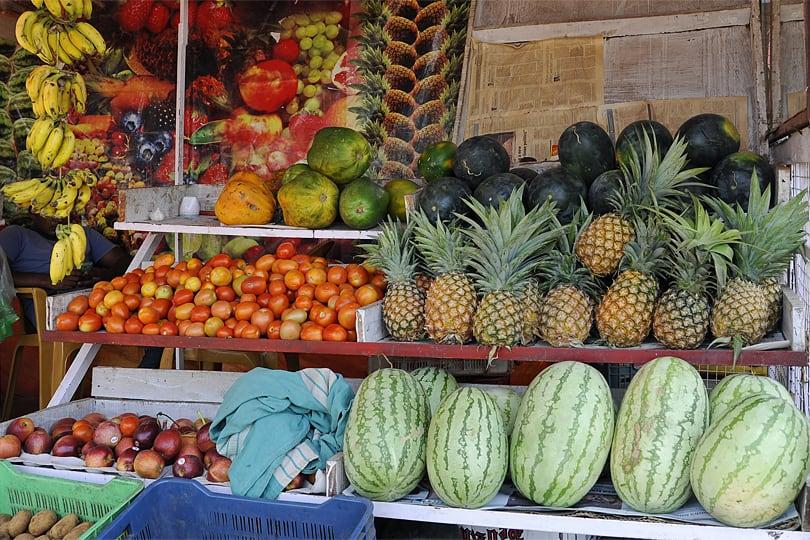 Roadside stall, Southern Goa