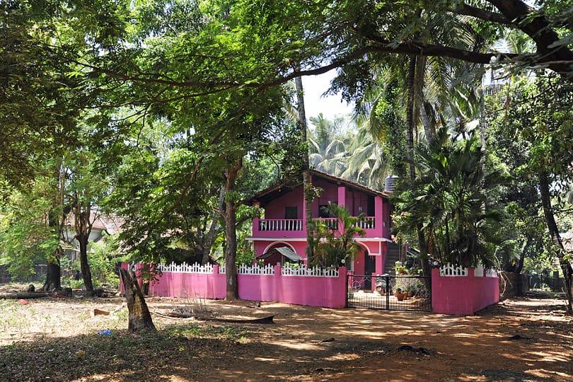 Cheerful house, Southern Goa, India