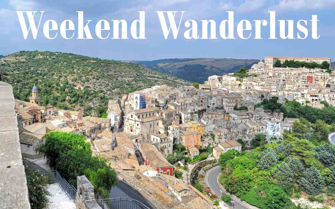 Weekend Wanderlust: Sarongs, Seals and Sicily