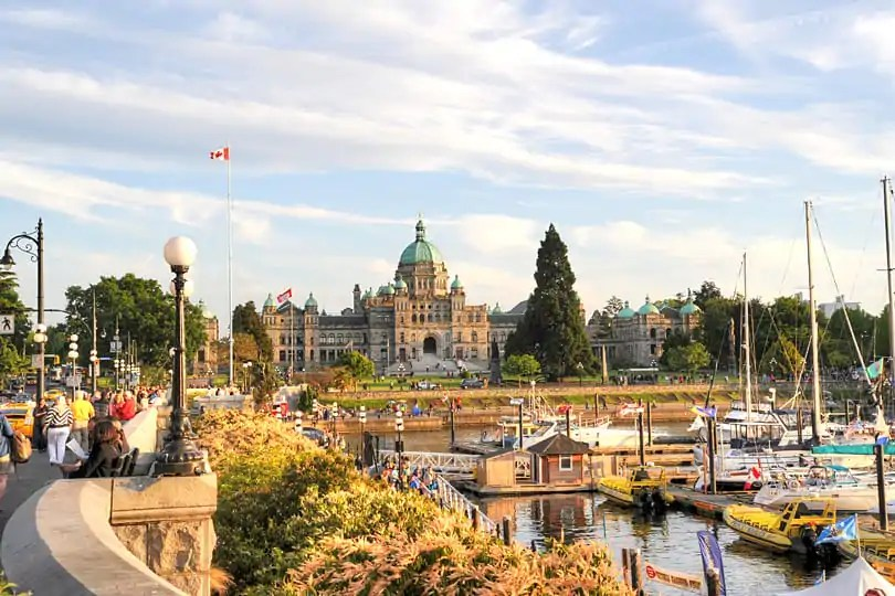 Victoria's Inner Harbour, Britsh Columbia, Canada