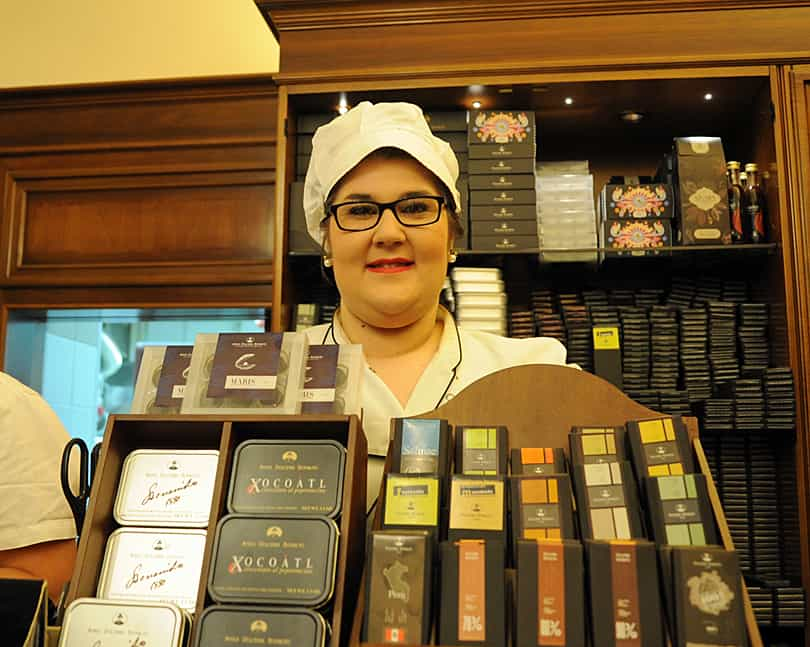 Some of hte best chocolate you could hope to find anywhere - Modica, Sicily