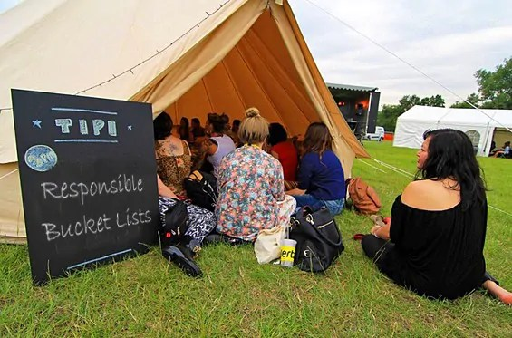 Join me in the tipi at BLogsStock 2015 where I'll be talking about Reasponsible Bucket Lists