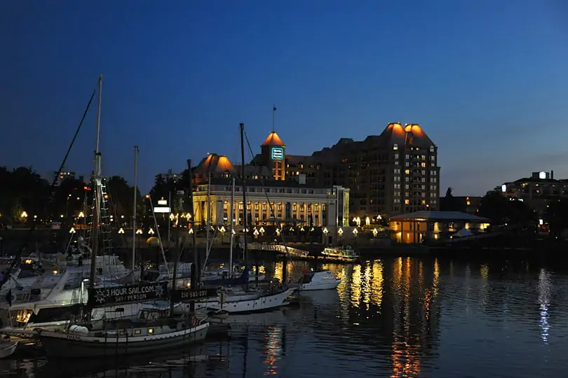 Inner Harbour, Victoria, British Columbia