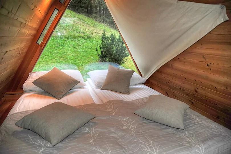 glamping by Lake Bled, Slovenia