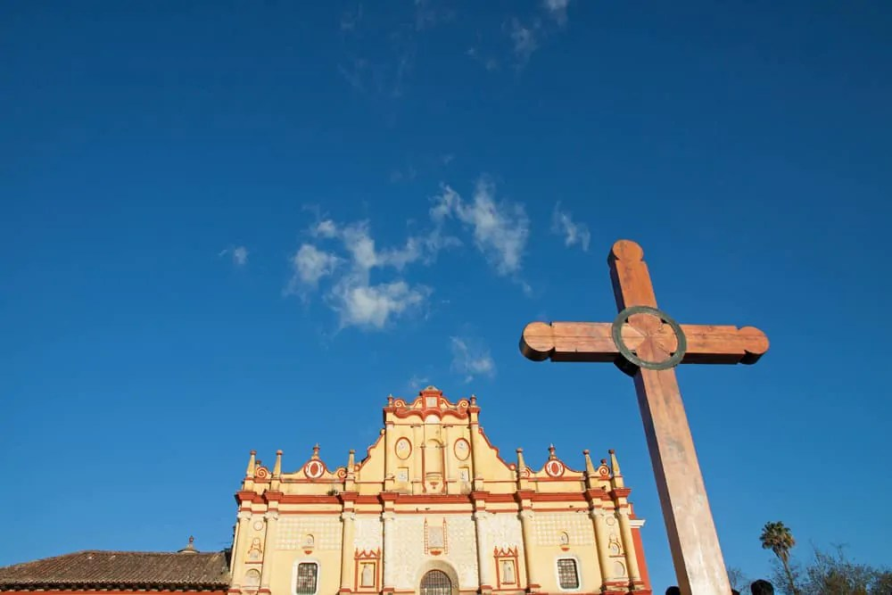 Getting off the beaten track in Mexico: San cristobal Cathedral in Chiapas, Mexico