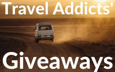 A Trio of Giveaways for Travel Addicts!