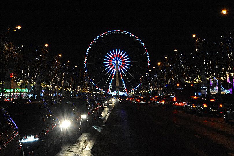 Champs-Elysées, Paris at Christmas