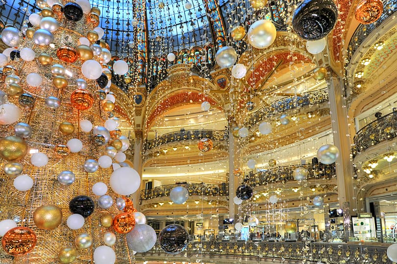 The Magic of Paris at Christmas #ParisChristmas #FrenchChristmas