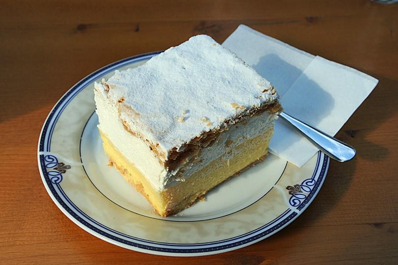 Bohinj Cream Cake, Slovenia