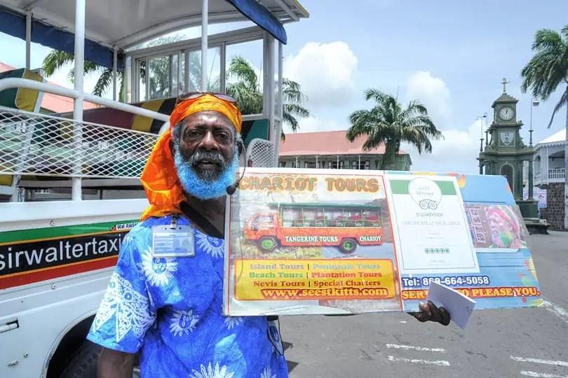 Christian from Tangerine Tours, St Kitts