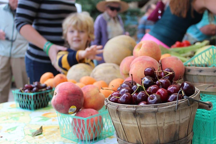 Beckenridge Farmer's Market, Colorado