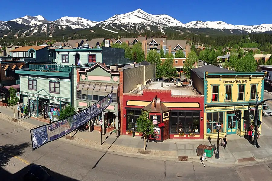 Arts and crafts in the mountain town of Breckenridge