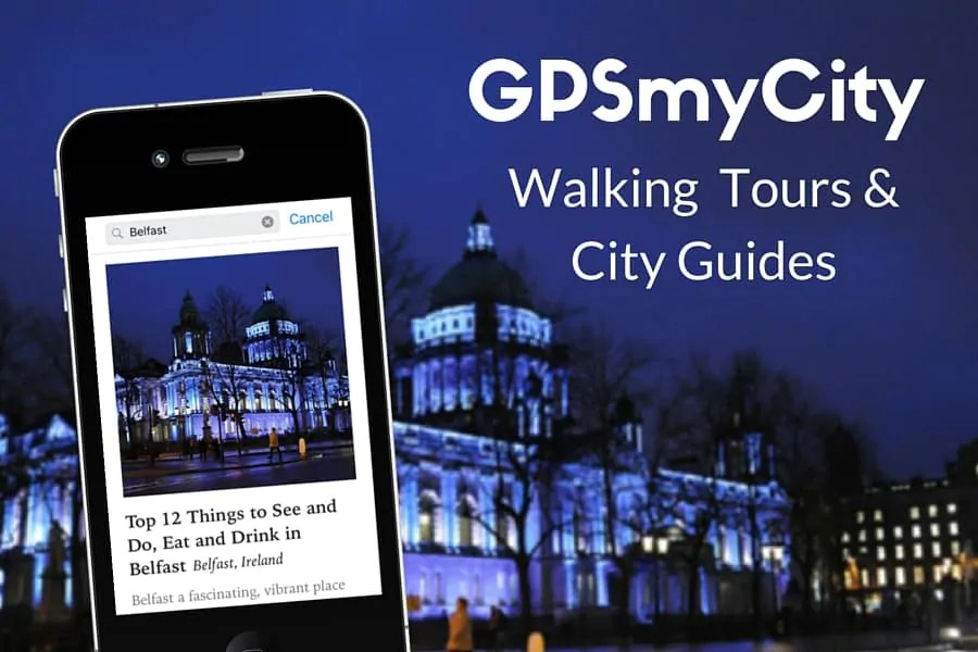 Introducing my travel articles with GPS navigation
