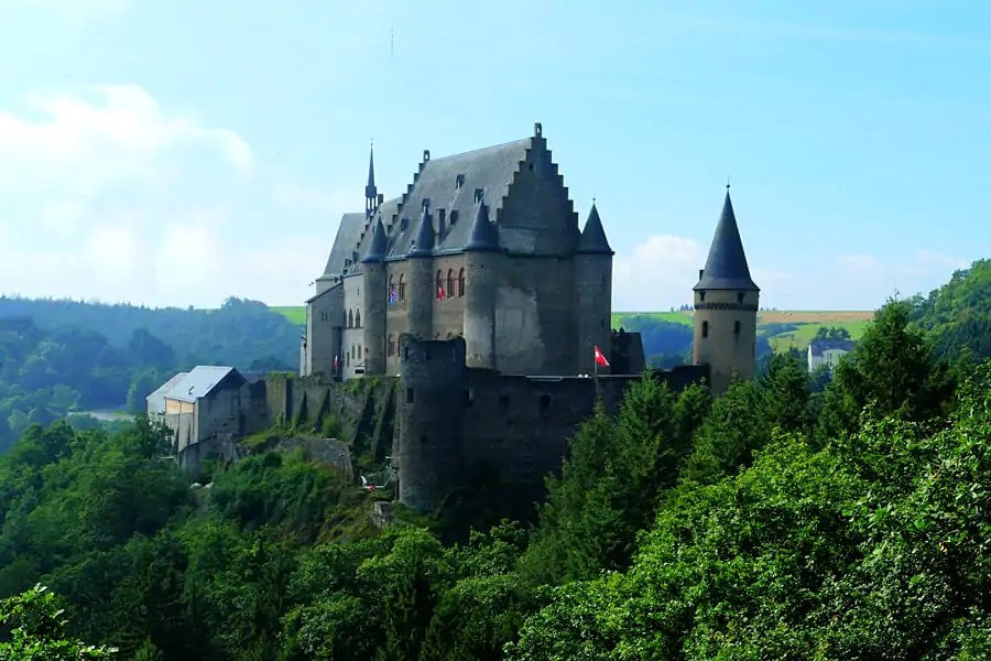 Viaden Castle, Luxembourg