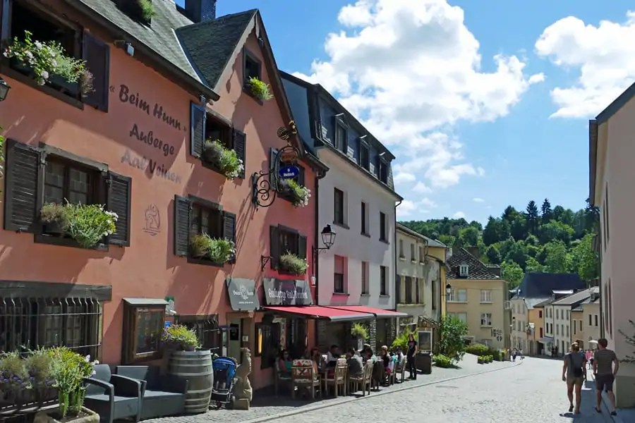 Auberge Aal Veinen Beim Hunn, Viaden, Luxembourg