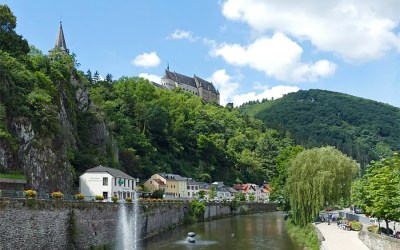 The Fairytale Vianden Castle, Luxembourg