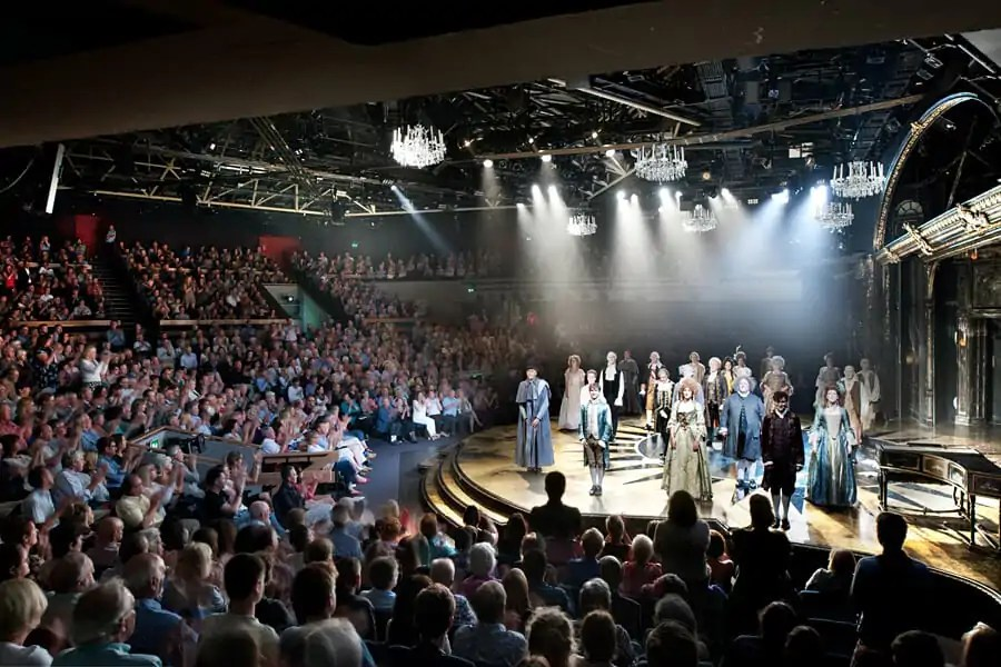 Curtain call for Amadeus at the Chichester Festival Theatre
