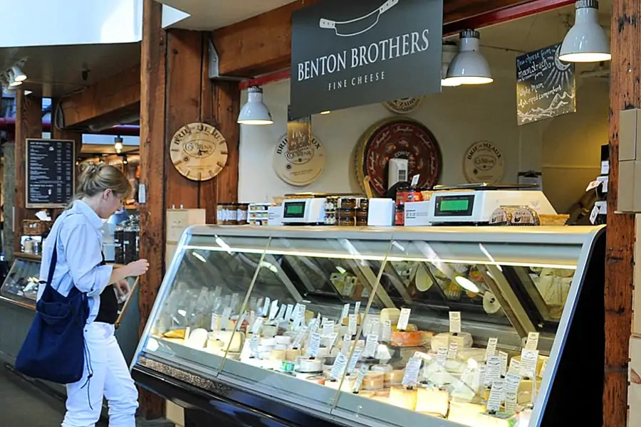 Benton Brothers Fine Cheeses, Granville Island, Vancouver, British Columbia, Canada