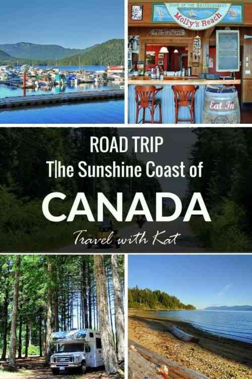 The Sunshine Coast of Canada Road Trip