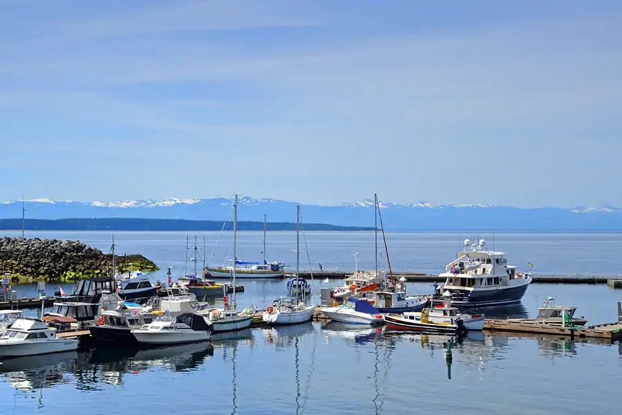 Lund Harbour, the Sunshine Coast, British Columbia, Canada
