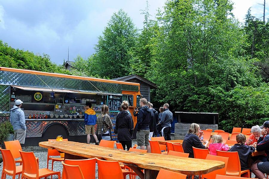 Tacofino food truck, Tofino, Vancouver Island, BC, Canada
