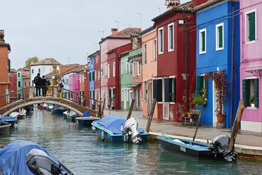 Burano island in Venice Lagoon, Italy