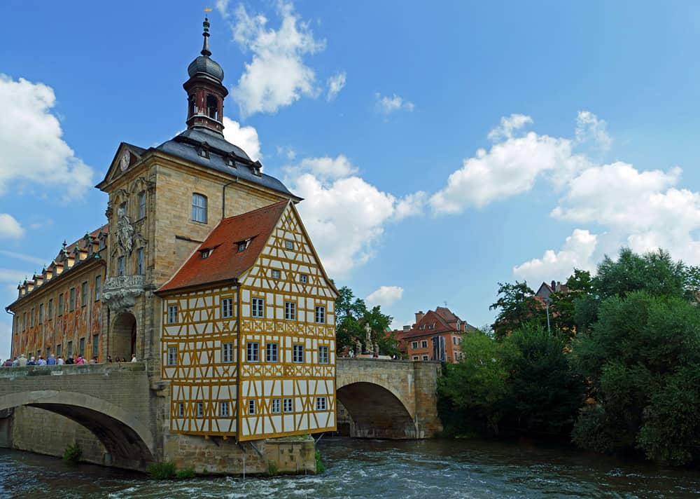 The Town Hall in Bamberg, Germany