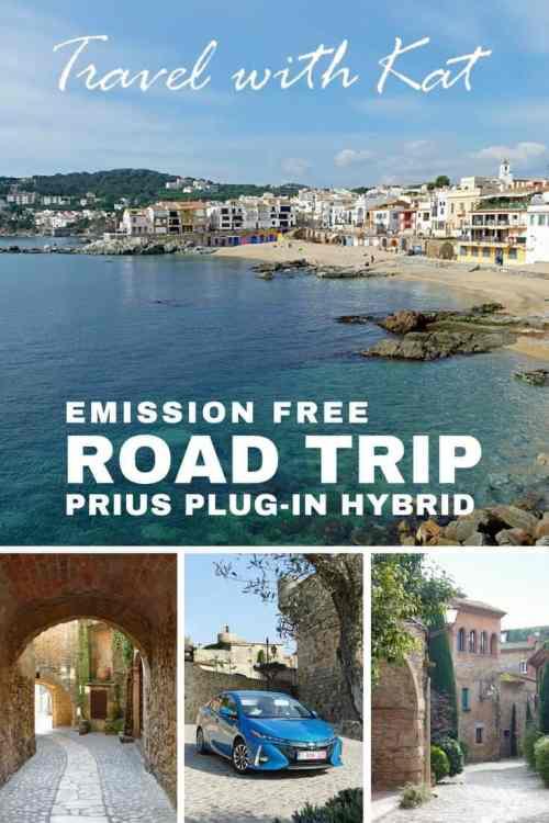 Emission free road trip in a Prius Plug-in Hybrid