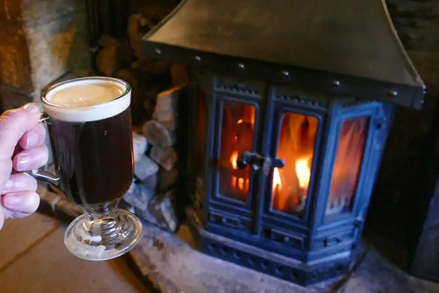 Irish Coffee in th eCotswolds