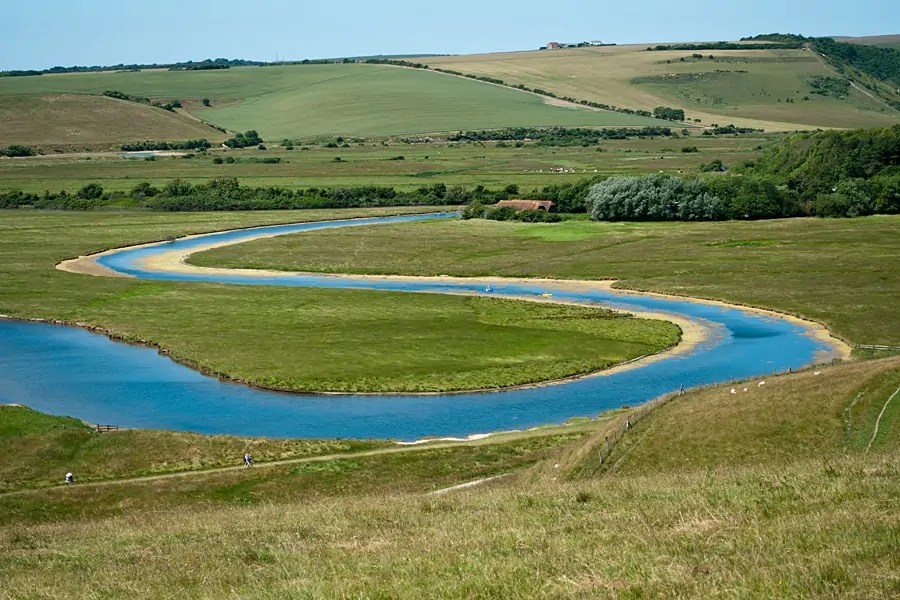 Cuckmere River, Seven Sisters Country Park, East Sussex