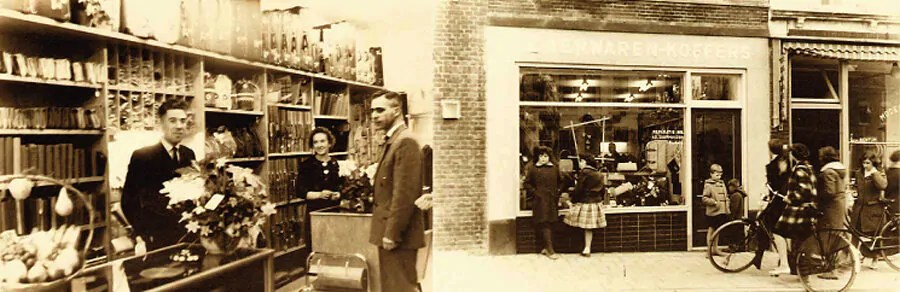 Duifhuizen was established in 1953 and is one the largest Dutch retailers of bags, suitcases and small leather goods.