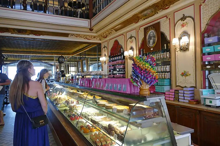 Miremont, a charming historic Salon de Thé in Biarritz in the French Basque Country