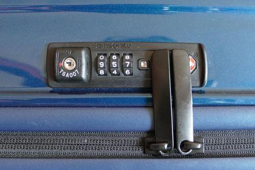 Samsonite Neopulse Suitcase TSA lock
