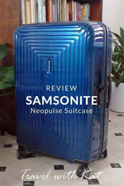 Samsonite Neopulse Suitcase Review