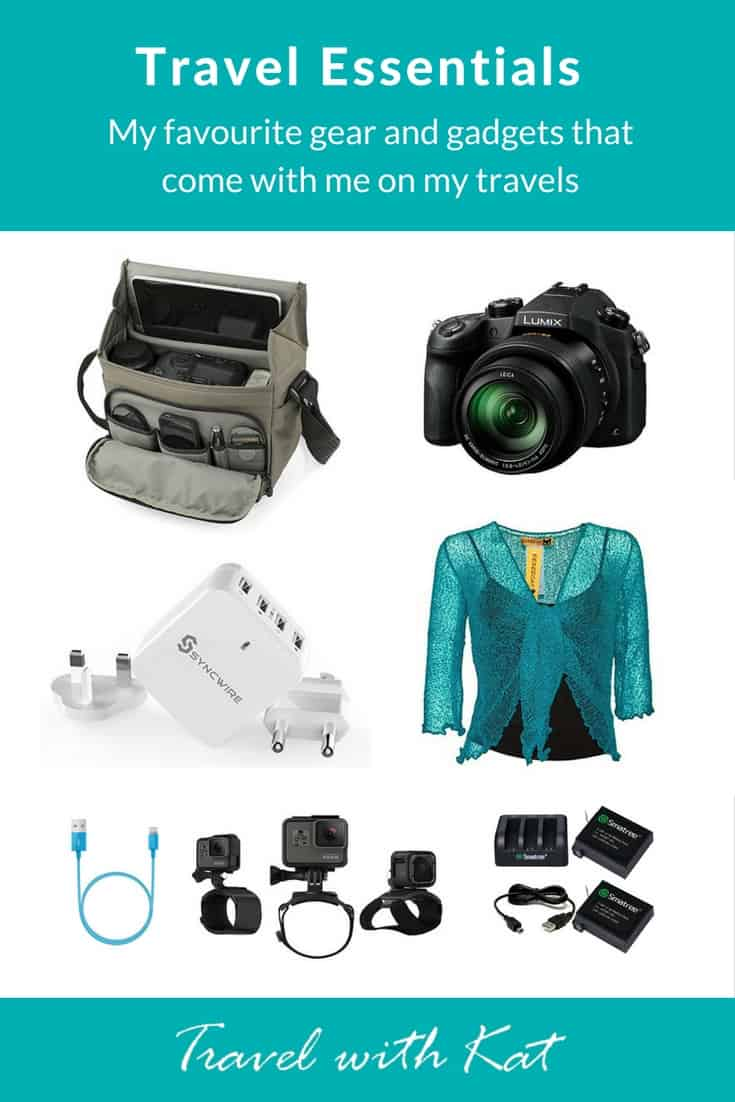 Top Travel Gear, Gadgets and Gizmos, that I trust not to let me down.