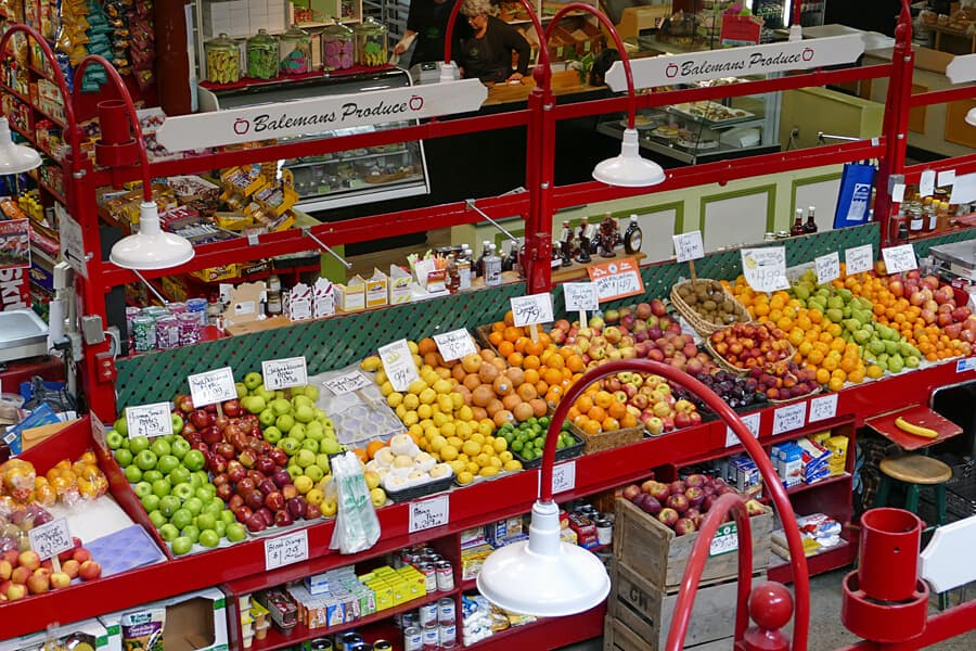 Saint John City Market, Saint John New Brunswick, Canada