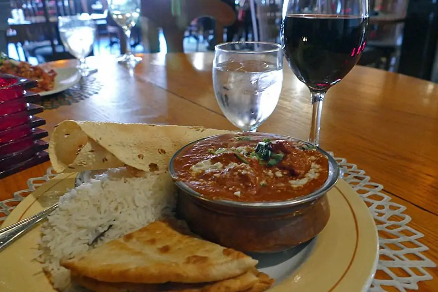 Butter Chicken at Thandi Restaurant - Best things to eat in Saint John, New Brunswick, Canada