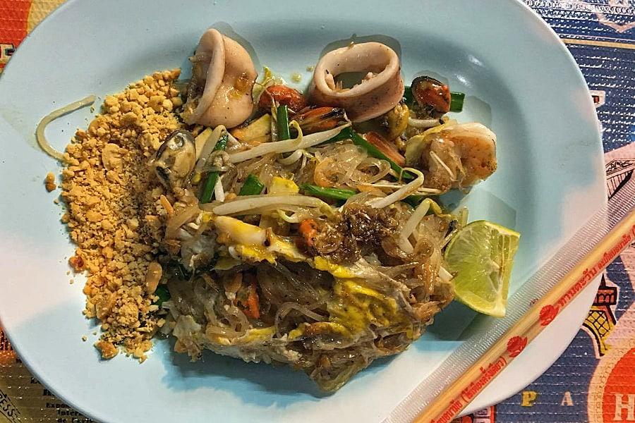 Pad Thai - best Chiang Mai street food